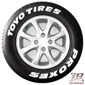 Toyotires Proxes Tire Sticker / Tire letter / Tire Graphic /Stiker Ban