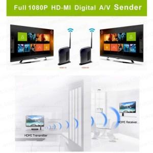FULL 1080P HDMI DIGITAL WIRELESS EXTENDER SENDER AV KIT 30 M