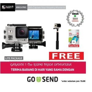 Brica B-pro bpro 5 Alpha Edition 1080p FREE TONGSIS actioncam