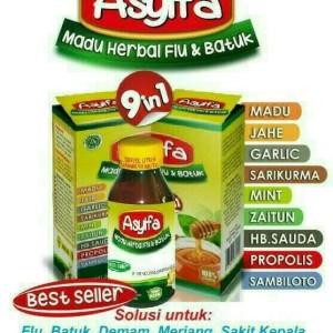 madu batuk dan flu asyifa