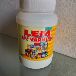 Lem UV Varnish RR Untuk Kotak Kemasan