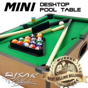Mini Desktop Billiard Pool Table - Mainan Hadiah Anak Meja Biliar Mini