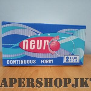 Continous Form 91/2 x 11 2 Ply/2 ( K2/2 Neuro ) NCR / Kertas Komputer