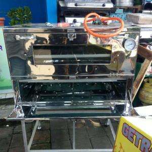 oven gas murah 90x55 + termometer via ekpedisi