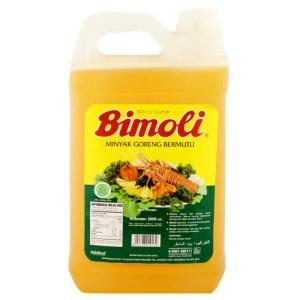 Bimoli Jerigen 5 Liter (WAJIB GRAB / GOSEND)