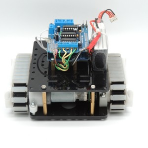 Android Bluetooth RC Robot wireless Tank wheel With Arduino uno R3