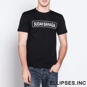 Tumblr Tee / T-Shirt / Kaos Sudah Bahagia - Hitam