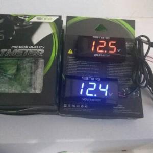 Voltmeter Digital Slim Mini Volt Meter Waterproof Luminos 9nine