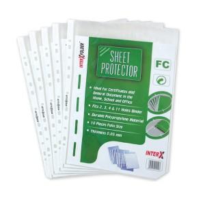 PP pocket F4 / sheet proctector F4 Inter X