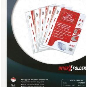 PP pocket A4 / Sheet Protector A4 Inter X