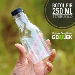 Botol Plastik 250 ml PIR + Pet Plastik 250 ml.
