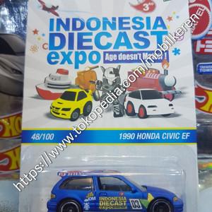 Hot Wheels Indonesia DieCast Expo IDE 3 1990 Honda Civic EF