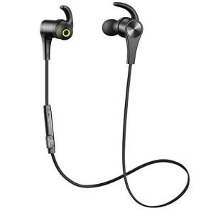 SOUNDPEATS Q12 Bluetooth 4.1 In Ear Sweatproof Sports 7Hrs BLACK