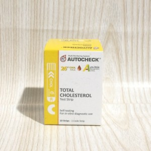 STRIP AUTOCHECK Cholesterol/Kolesterol - ISI 10 STRIP