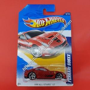 Hotwheels - HW All Stars '12 - Ferrari 599XX
