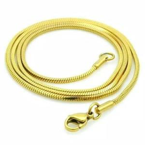 kalung titanium gold 60cm