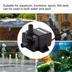 pompa celup mini submersible water pump DC 12V 240HL