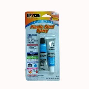 Devcon S-5 Plastic Steel Epoxy - Lem Besi Plastik Epoxy