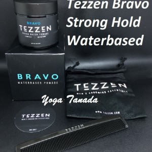 Pomade Tezzen Bravo Waterbased Water based BPOM (FREE SISIR + POUCH)