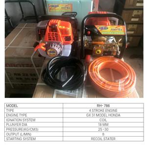 mesin steam/portable power sprayer 4tak merk Robotech