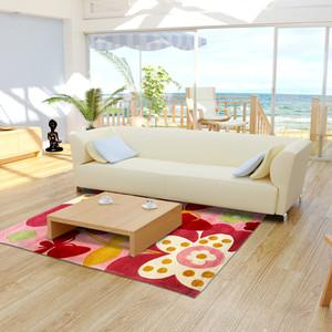 Karpet Handtuft Ready High Quality Bunga Mewah 160X240 CM