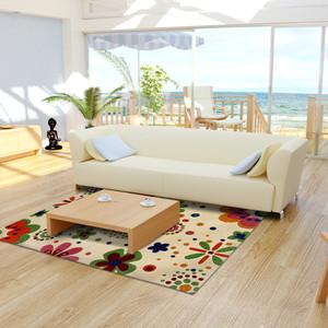 Karpet Handtuft Ready High Quality Bunga Warna Mewah 160x240 cm