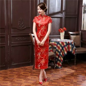 NEW RESTOCK Qipao Long Dress Dragon Phoenix Limited Edition