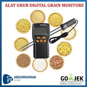 Digital LCD Grain Moisture Meter / Alat Ukur Kadar Air Kelembaban Biji