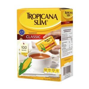 Tropicana Slim Classic Gula [100 Sachet]