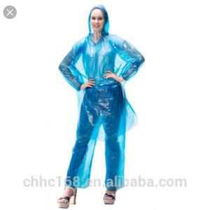 Jas Hujan Setelan Plastik Tebal PDE (Jaket + Celana)