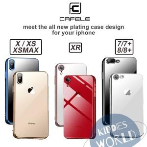 Case Iphone 7/7+/8 /8+/X/XS/XR/XSMAX CAFELE TPU Full Plating Luxury