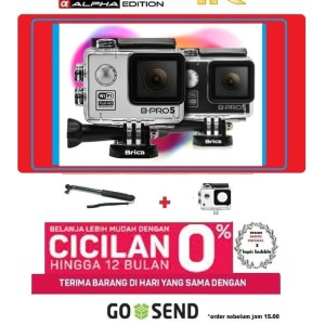 Action camera wifi BRICA B-PRO 5 Alpha Edition bpro5 AE LITE Tongsis