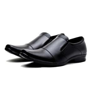Sepatu kerja Pantofel Pria formal Kerja & Pesta Bahan kulit Size 37-43