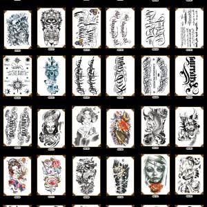 Tato/Tatto temporary/Tatto temporer/ Tatto lengan 21x15 cm GROSIR