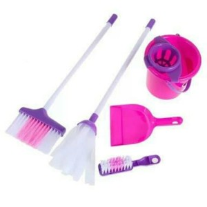 CLEANING SET KANTONG - MAINAN SAPU SAPUAN LITTLE HELPER