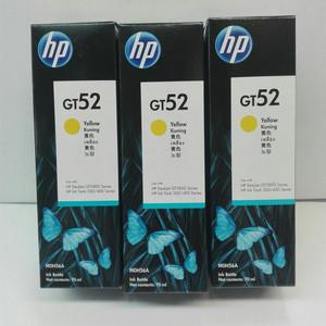 Tinta Printer Original HP GT 52 Yellow