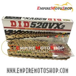 Rantai DID X Ring 520 - 120 VX Ninja 250 Fi Z250 R25 MT25 CBR250RR ZX6