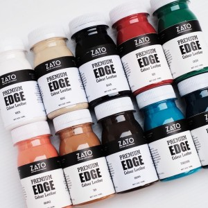 Leather Edge Finish Colour for Professional.