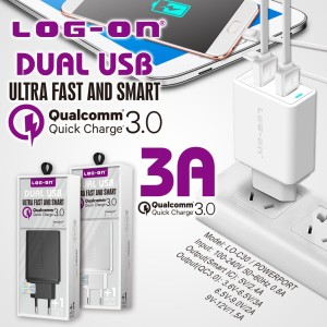 CHARGER LOGON QUALCOMM QUICK CHARGER 3,0A