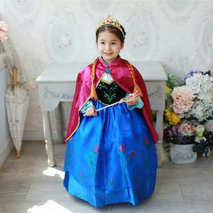 Jual Baju Dress Kostum Anna Frozen Jubah Merah / Gaun Anna Frozen 345