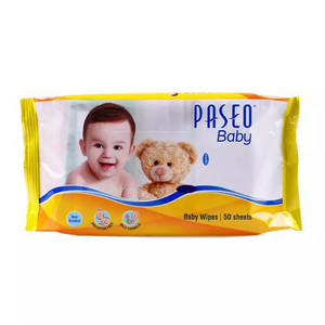 PASEO Baby Wipes 50's / Wet Tissue / Tisue / Tisu Basah Bayi / Anak