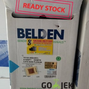 KABEL LAN UTP cat 6 / cat6 BELDEN made in USA 1 roll Original