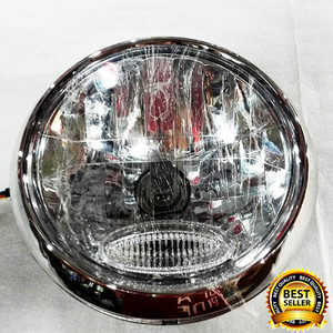 Headlamp Vixion Lama Bulat/ Batok Lampu Depan Vixion Old Bulat