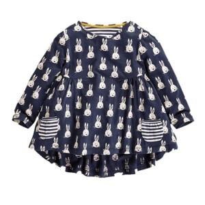 Pakaian Dress Rabbit Anak Perempuan Berkualitas