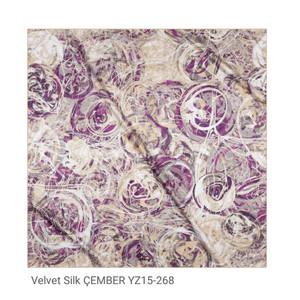 Hijab Turki Velvet Silk ÇEMBER YZ15-268