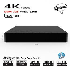 BEELINK M8S PRO 3GB 32GB Android TV Box Bluetooth FULL KODI dan APP