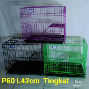 Kandang Kucing-Anjing Tingkat P60cm