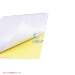 Kertas Stiker Sticker HVS A4 Doft Doff Putih Polos High Quality FASTAC