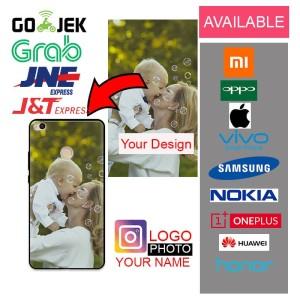 [PREMIUM MATERIAL] Custom Case All Type Foto Logo Nama & Lainnnya
