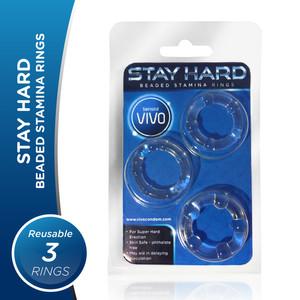 Vivo Stay Hard-Cockring- Cincin Tahan Lama-Elastis Silikon